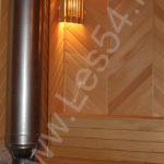 Отделка СПА-Центра в ЦСО «Синегорье» из профилированного бруса сечением 200х220 мм