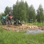 Дом-баня в дачно-коттеджном посёлке Ложок-1 из профилированного бруса 190х190 мм