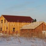 """Жилой дом и баня в СНТ """"Бердь"""" из оцилиндрованного бревна д. 240 мм"""
