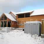 Каркасный жилой дом для круглогодичного проживания